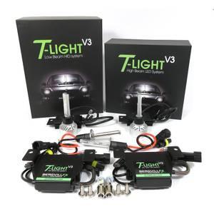 Image of T-LIGHT 993 Headlight low/high beam bundle 6000K