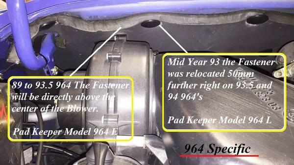 Pad Keeper Model 964 E (89-93.5)