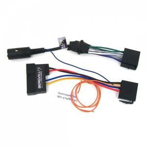 Bilde av ISO kabelsett DIN 8-pin og strømforsyning